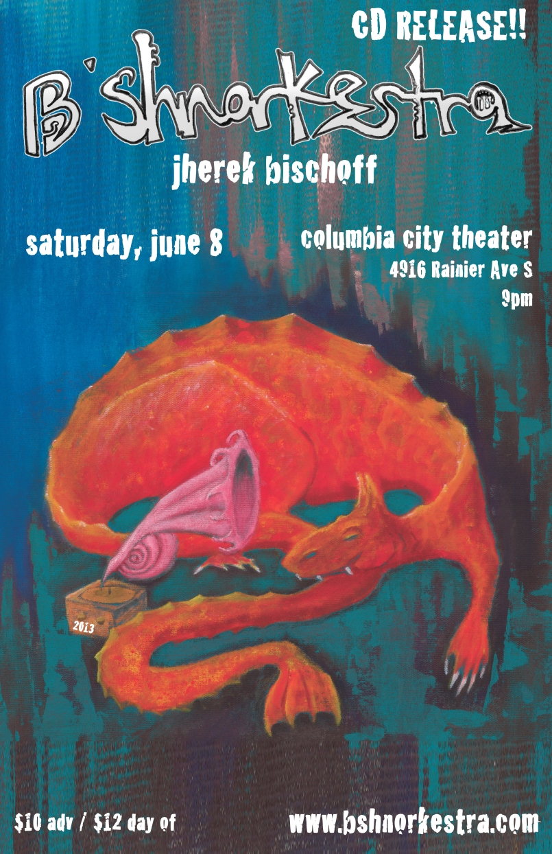 Bshnorkestra release poster_060813